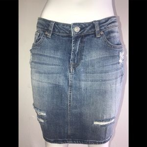 7 For All Mankind Pencil Jean Skirt